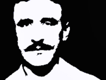 Charles Rennie Mackintosh in Black and White, PhotoShop by Andrea Reeves
