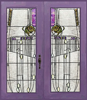 After passing through the entrance and behind a white enameled screen with lead-glass panels customers came to the central cashieru0027s station. & The Willow Tea Rooms of Charles Rennie Mackintosh a page in the ...