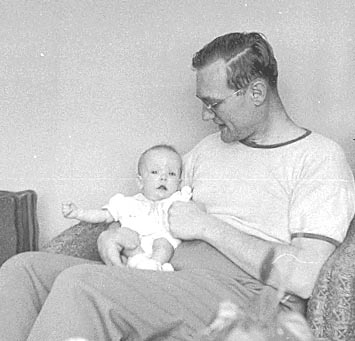 [my father, Chester, and I]