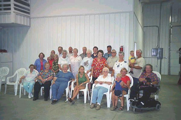 [family reunion 2002, Linton Indiana, description below picture]