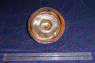 Saucer with tenmoko glaze></a>